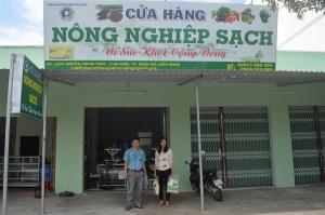 Kiên Giang: Mở cửa hàng nông sản VietGAP