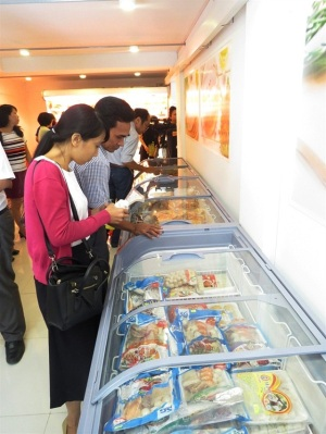 Hàng trăm điểm bán thực phẩm an toàn