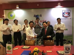RDCO ký hợp tác lĩnh vực bò sữa công nghệ cao với BDAD