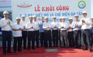 Khởi công Nhà máy giết mổ - chế biến gia cầm XK hiện đại nhất Việt Nam