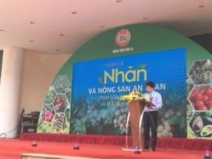 Khai mạc Tuần lễ nhãn và nông sản an toàn Sơn La tại Hà Nội