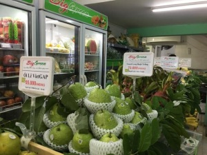 Quản lý cửa hàng trái cây an toàn