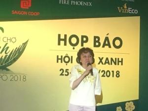 Đón tết an lành cùng với Hội chợ xanh 2018