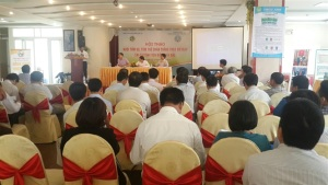 Hội thảo nuôi tôm theo VietGAP